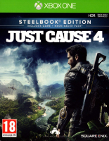 Фотография Игра XBOX ONE Just Cause 4 Steelbook издание [=city]