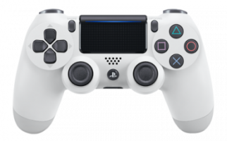 Фотография Геймпад Playstation 4 Белый (White) V2 [=city]